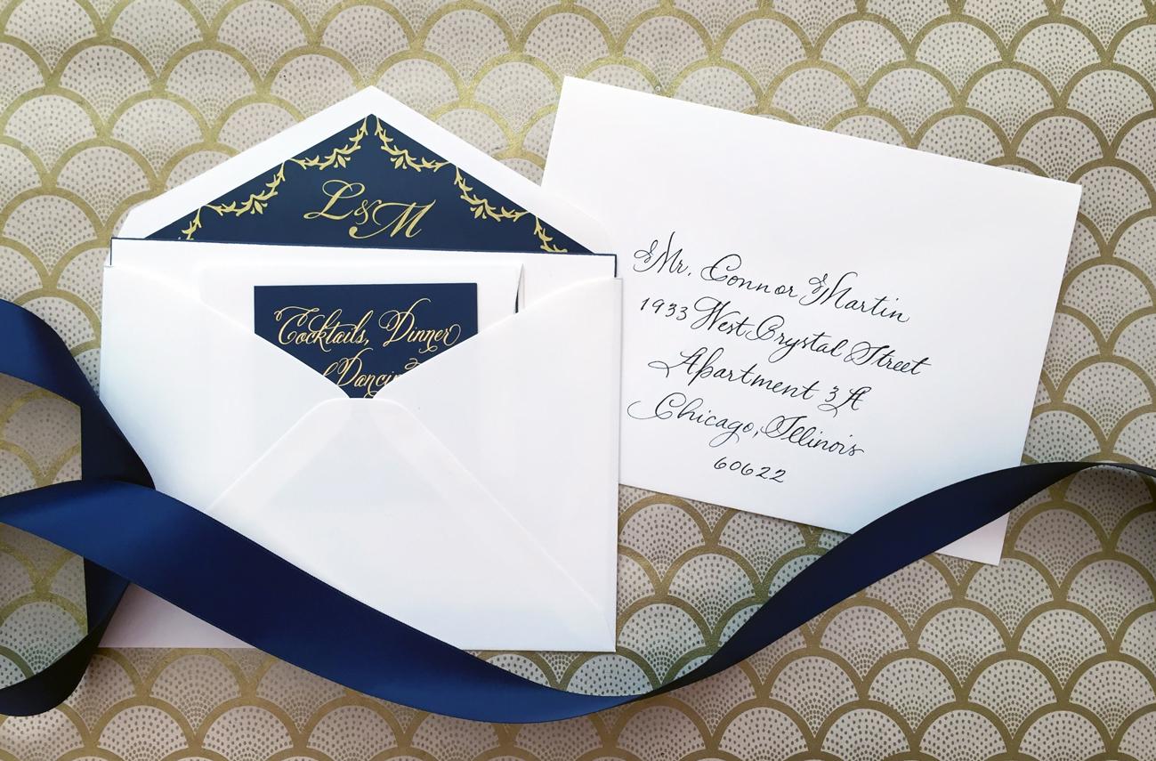 Addressing Inner Envelopes Today S Weddings
