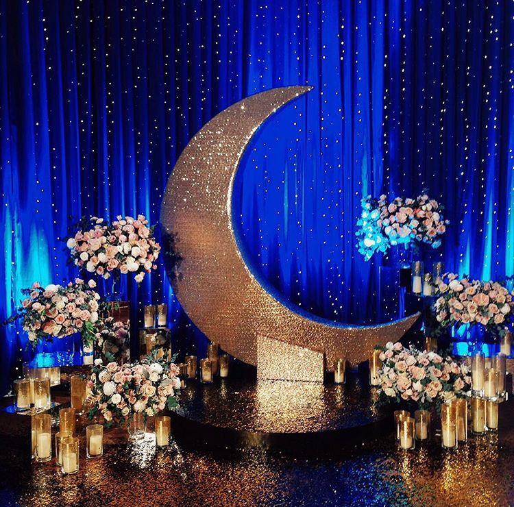 Celestial Moon Stars Theme Weddings Today S Weddings