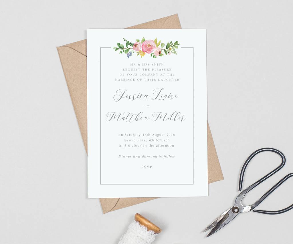 Invitations Wedding Ideas: Assembling Wedding Invitations