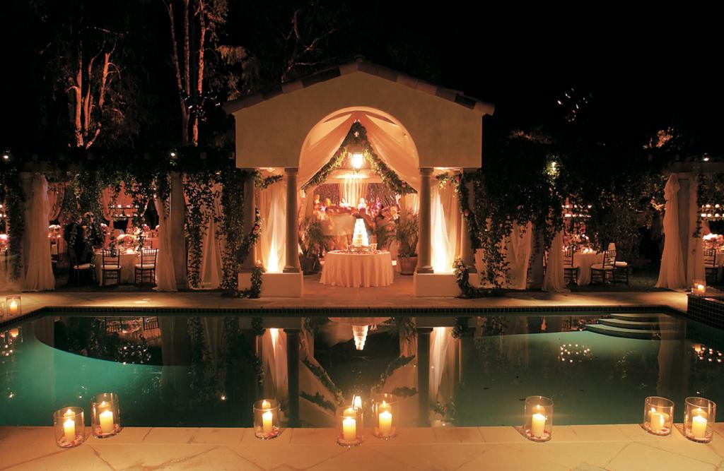 Candlelight Theme Weddings Today S Weddings