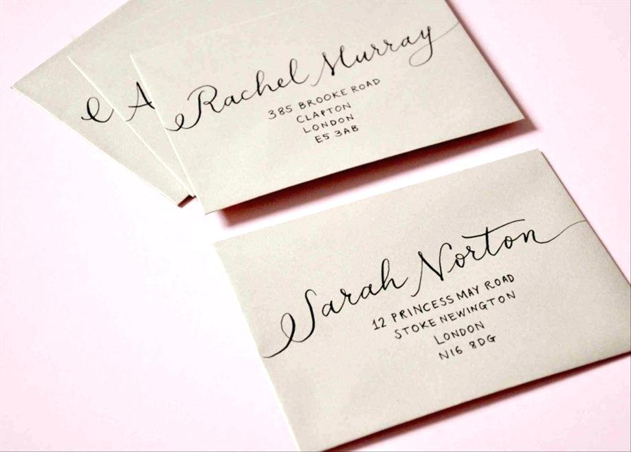 Diy Addressing Wedding Invitations: Announcement Wording Samples