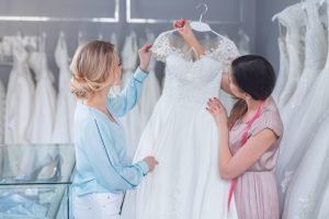 5 Signs that you have found your ideal wedding dress